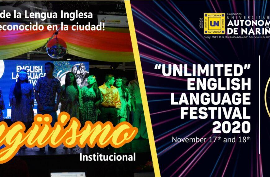"""UNLIMITED"" ENGLISH LANGUAGE FESTIVAL 2020"